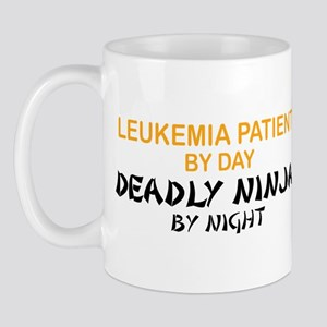 Leukemia Patient Deadly Ninja Mug